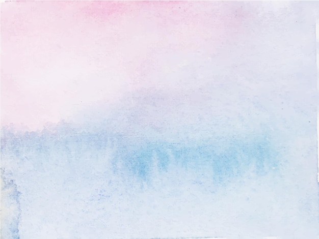 Roze blauw abstract aquarel achtergrond