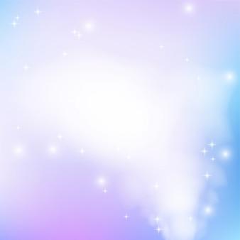 Roze-blauwe achtergrond met flikkering