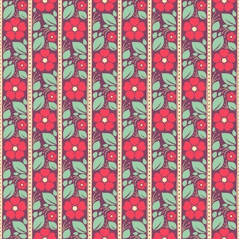 Roze bloemen op een paarse achtergrond