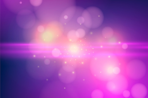 Roze bokeh effect achtergrond