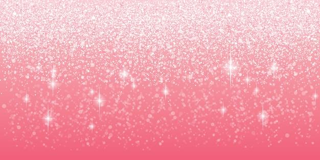 Roze glitter achtergrond