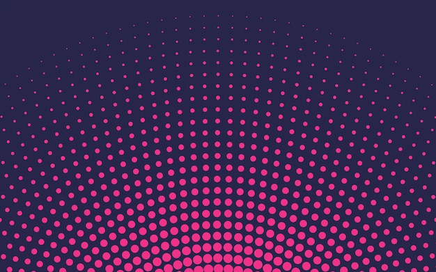 Roze gradiënt halftone achtergrondvector
