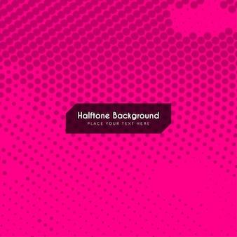 Roze kleur halftoon achtergrond ontwerp