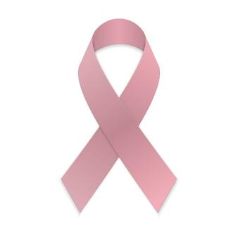 Roze lintje. borst kanker bewustzijn symbool
