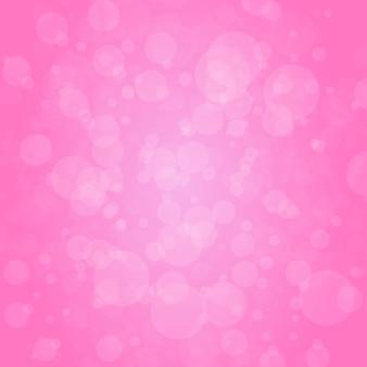 Roze met abstracte ronde cirkel licht bokeh
