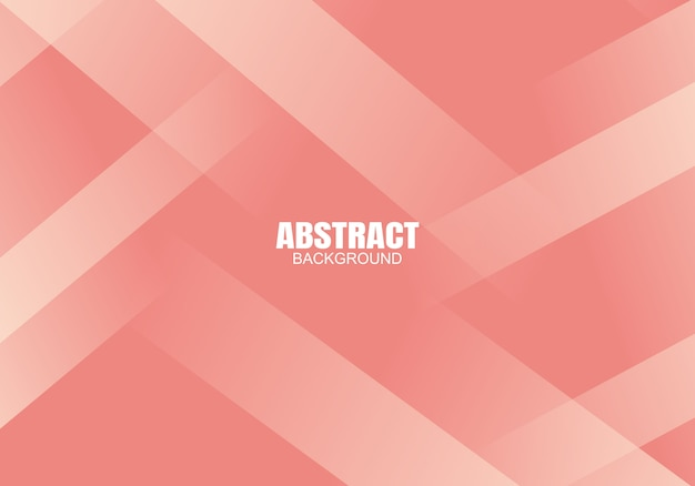 Roze moderne abstracte valentijnskaart als achtergrond
