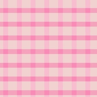 Roze naadloze gingangpatroon achtergrond