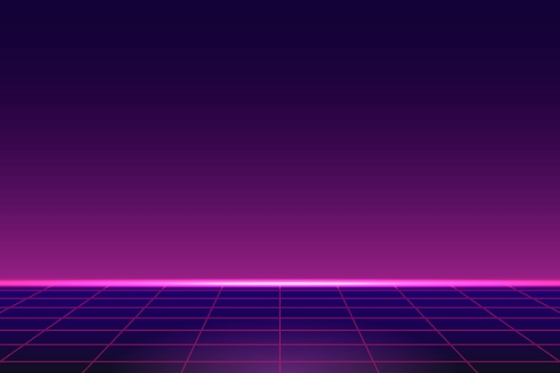 Roze neonachtergrond