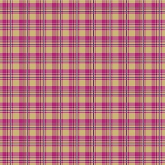 Roze patroon van de plaid