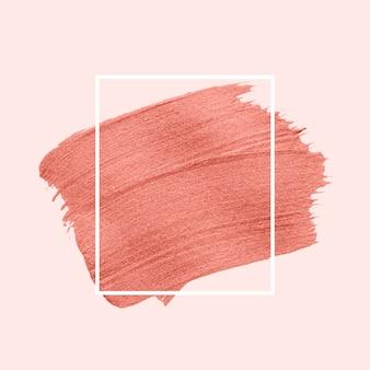 Roze penseelstreek