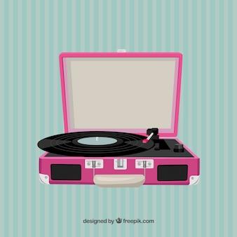 Roze platenspeler
