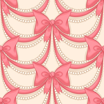 Roze strikken