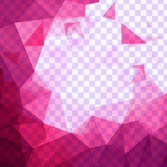 Roze veelhoek achtergrond