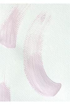 Roze verf penseelstreken