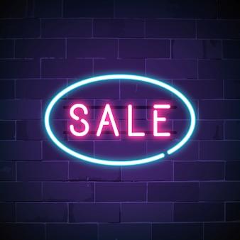 Roze verkoop neon teken