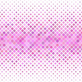 Roze vierkant patroon achtergrond - geometrisch vector ontwerp