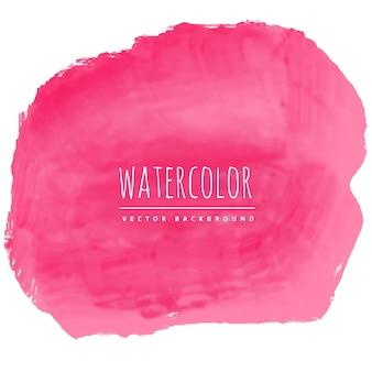 Roze waterverftextuur vlekachtergrond