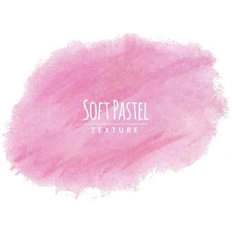 Roze zachte pastelkrijttekening