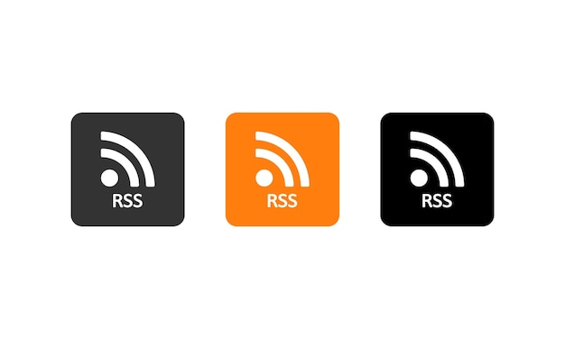 Rss-knop ingesteld. wifi-signaal