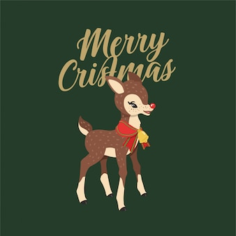 Rudolph het rood geneusde rendier