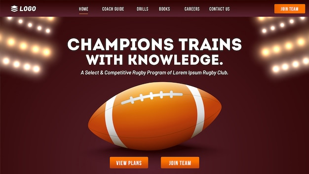 Rugby club website.