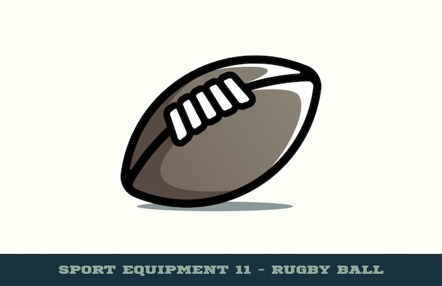 Rugbybal pictogram