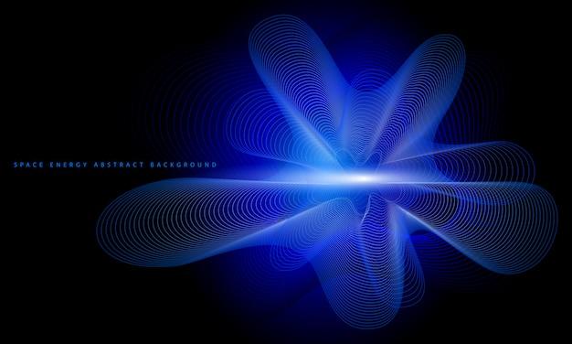 Ruimte energie abstracte achtergrond.