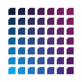 Ruimte vector kleurenpalet