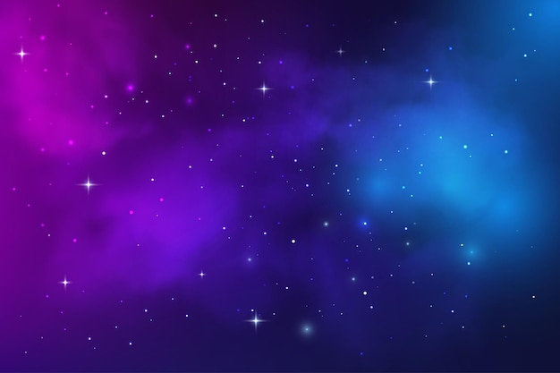 Ruimtemelkwegnevel, sterrenstof en sterrenhemel in het universum