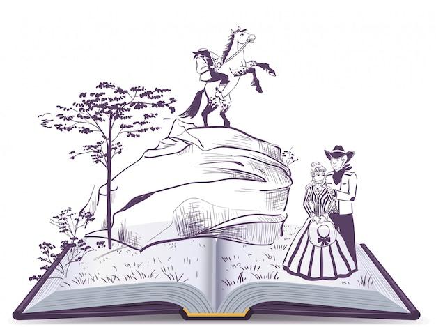 Ruiterboekpagina zonder hoofdboekillustratie