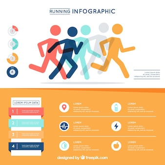 Running inforgraphic ontwerp