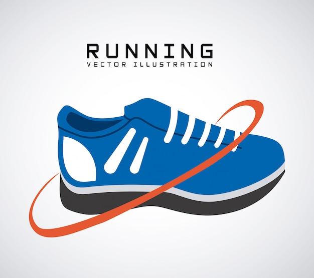 Running lifestyle-ontwerp