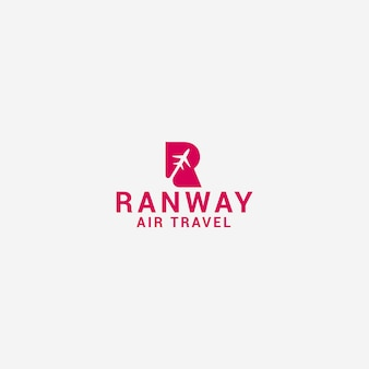 Runway logo sjabloon