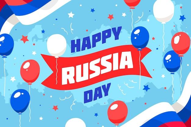 Rusland dag behang