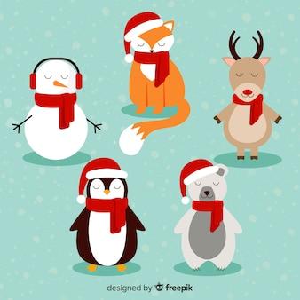 Rustende kerst tekens pack