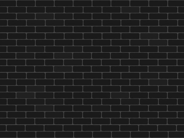 Rustieke zwarte bakstenen muurachtergrond