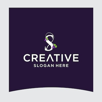 S druif logo ontwerp