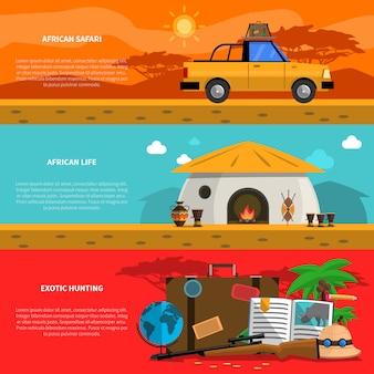Safari-bannerset