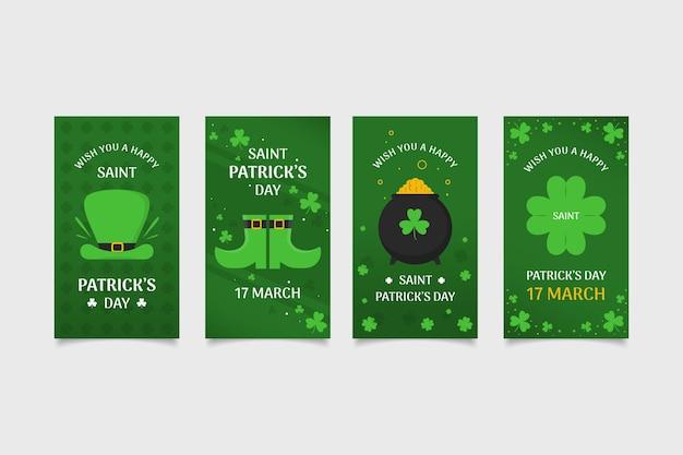 Saint patrick's day instagram-verhalen