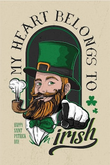 Saint patrick's day-poster