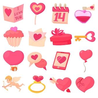 Saint valentine ingesteld