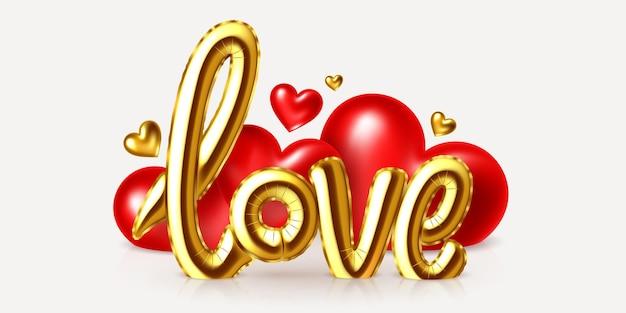 Saint valentine's day vakantie wenskaart ontwerp