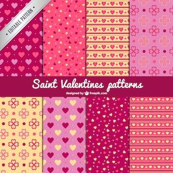 Saint valentine's patronen