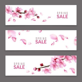 Sakura-banners