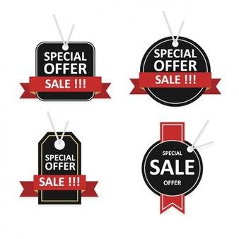 Sales labels collectie