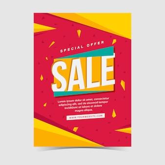 Sales posterontwerp