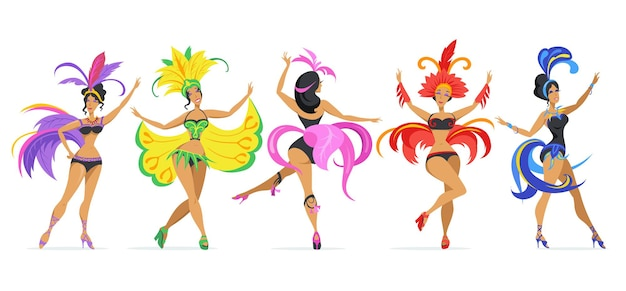 Samba danseres set