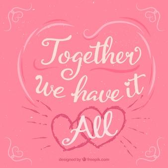 Samen hebben we het allemaal