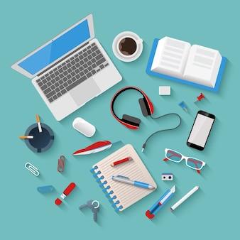 Samenstelling kantoorbenodigdheden