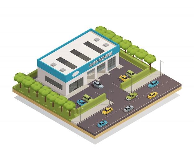 Samenstelling van autoservice